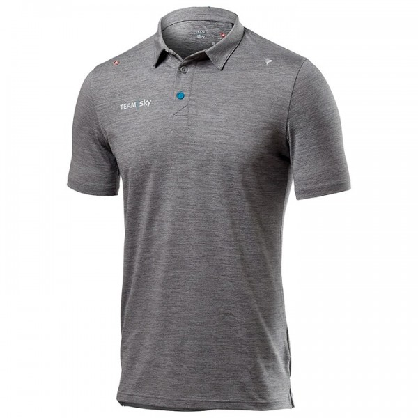 Camisa Polo Tech Pro TEAM SKY 2019