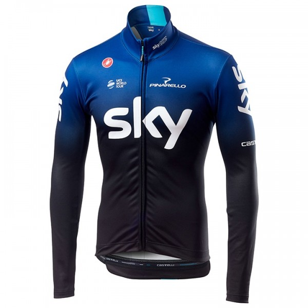 Maillot mangas largas Team Sky 2019