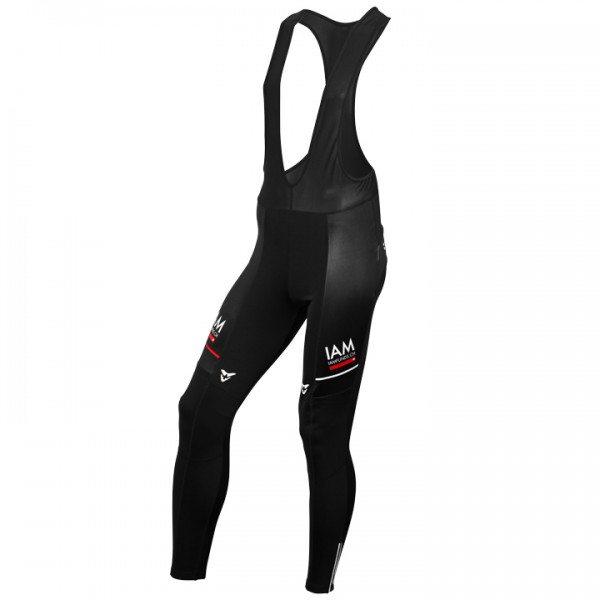 Culotte largo con tirantes IAM CYCLING TEAM Gold black 2015