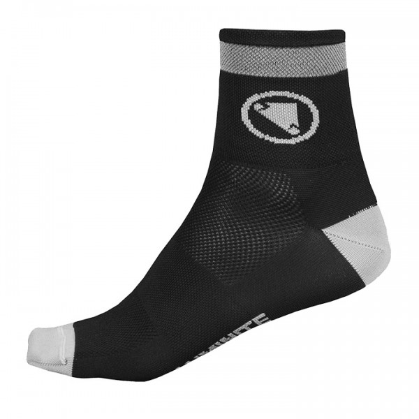 Calcetines ENDURA Luminite negros (pack de 2)