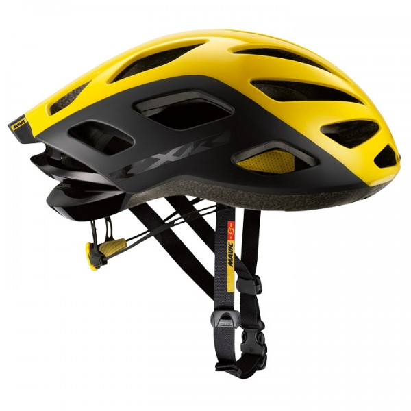 Casco MAVIC CXR Ultimate 2017 negro-amarillo