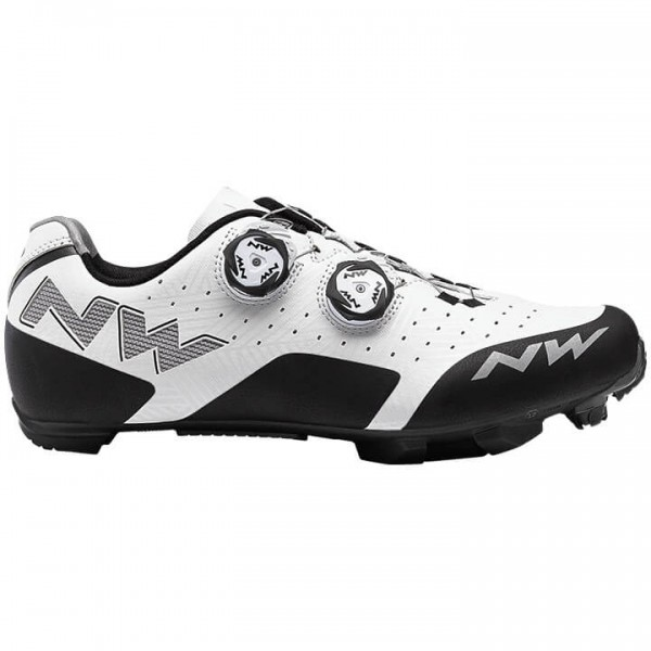 Zapatillas BTT NORTHWAVE Rebel 2019 blanco - negro