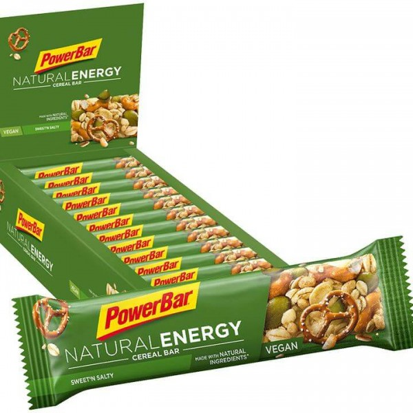 Barrita POWERBAR Natural Energy Cereal Sweet´n Salty 24 unidades/caja