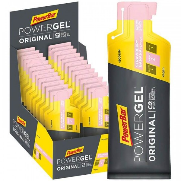 POWERBAR Powergel Original Strawberry-Banana 24 unidades/caja