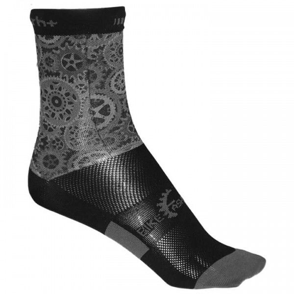 Calcetines rh+ Fashion 15 gris - negro