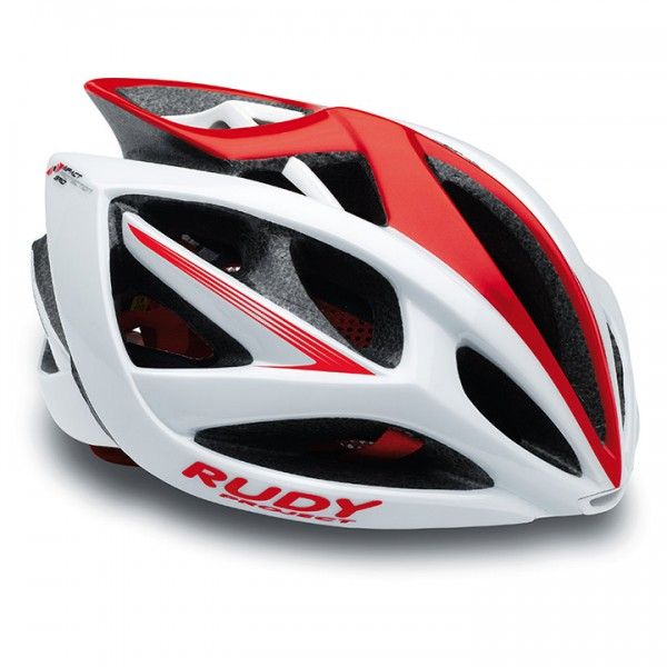 Casco RUDY PROJECT Airstorm 2017 white-red shiny