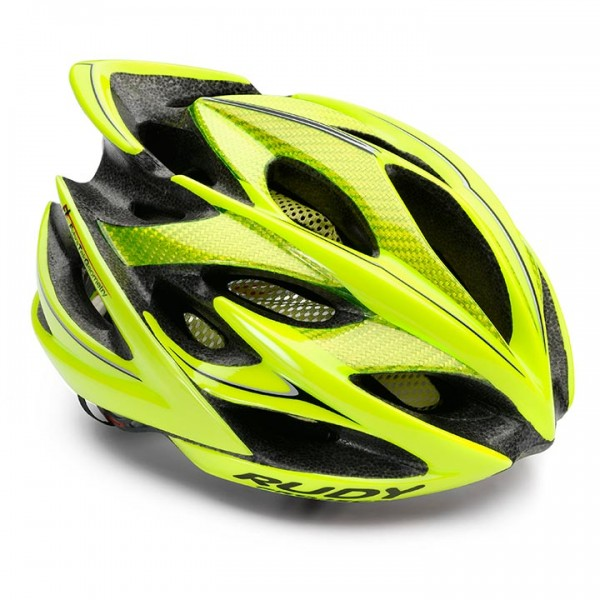 Casco RUDY PROJECT Windmax yellow fluo-black shiny