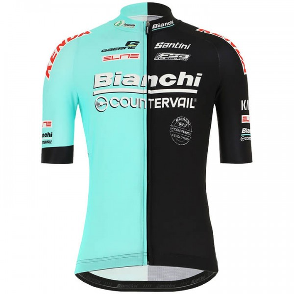 Maillot mangas cortas BIANCHI COUNTERVAIL 2019