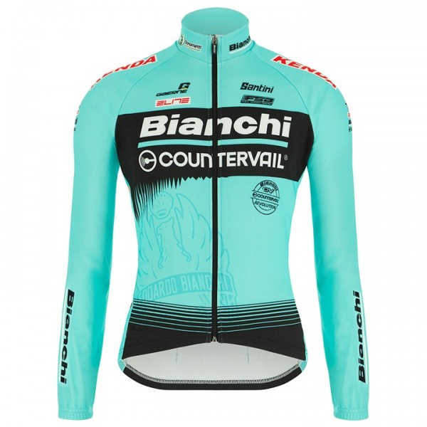 Maillot mangas largas BIANCHI COUNTERVAIL 2018
