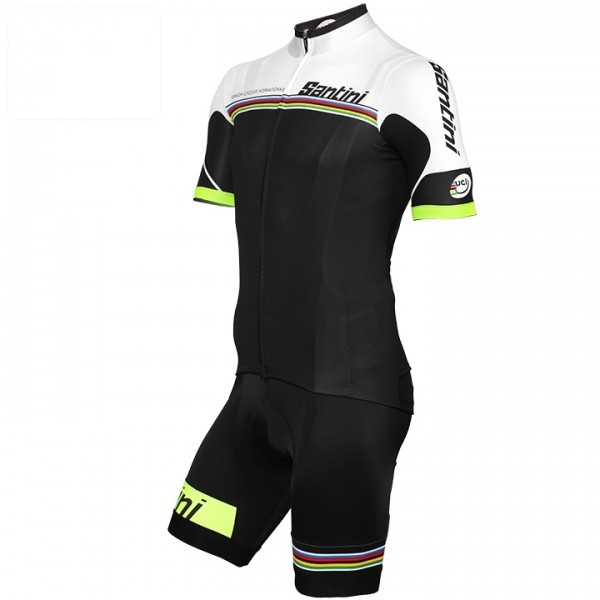 Set (2 piezas) UCI WORLD CHAMPION LEADER Rainbow Line 2017