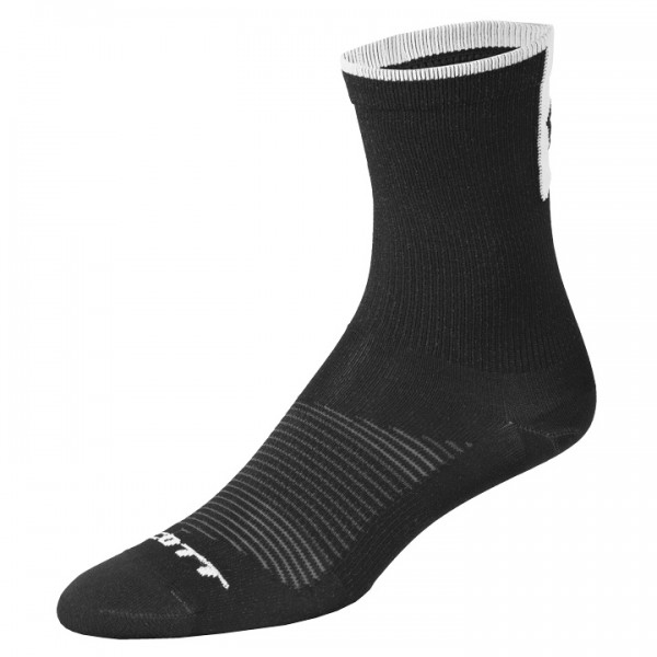 Calcetines SCOTT Road Long negros-blancos