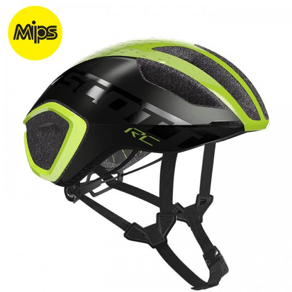 Casco SCOTT Cadence Plus 2019 amarillo neón - gris