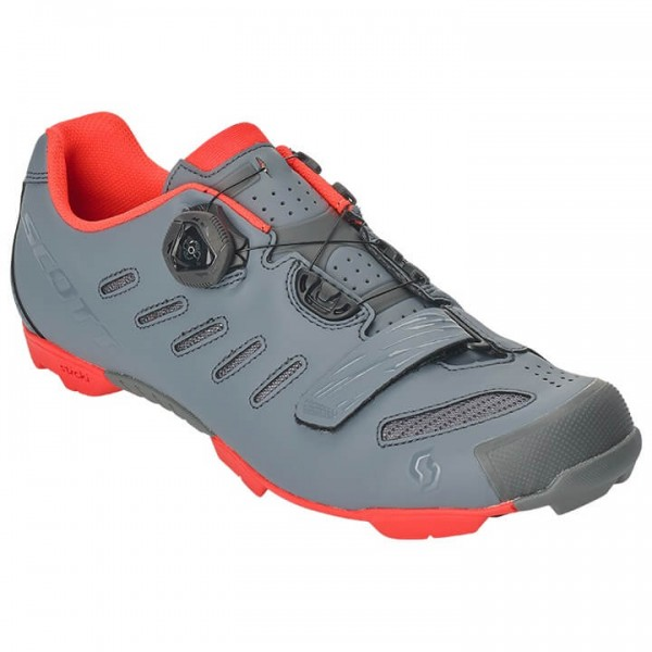 Zapatillas BTT SCOTT MTB Team Boa 2019 gris - naranja