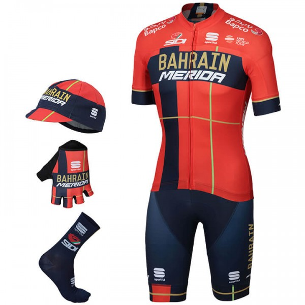 Maxi-Set (5 piezas) BAHRAIN - MERIDA Team 2019
