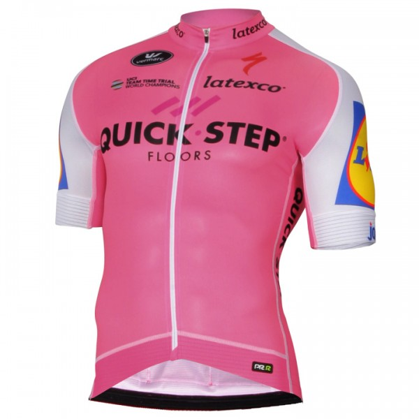 Maillot mangas cortas PRR QUICK STEP FLOORS Limited Edition 2017