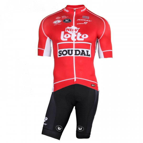 Set (2 piezas) LOTTO SOUDAL Tour de France PRR 2018 (2 T.)