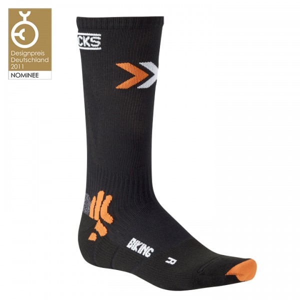 Calcetines X-SOCKS Bike Mid Energizer negros